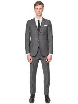 Manuel Ritz - Extra Fine Merino Prince Of Wales Suit