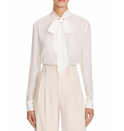 Alice and Olivia  - Freddie Tie Neck Blouse
