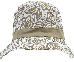 Solid Wing - Unisex Khaki Flowered Fisher