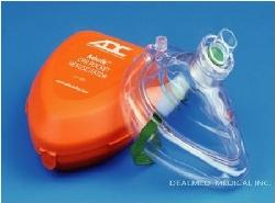 ADC - CPR MASK POCKET RESUSCITATOR Adsafe 10 PACK