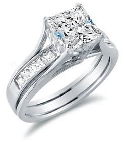 Sonia Jewels - Princess Cut Solitaire Engagement Ring