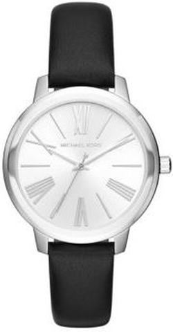 Michael Kors - Hartman Stainless Steel & Leather Three-Hand Watch