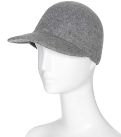 Stella McCartney - Felted Wool Baseball Cap