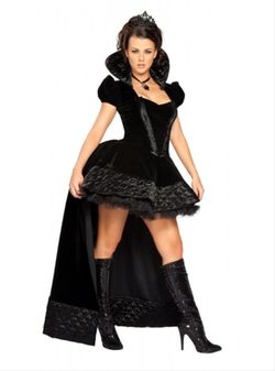 Roma Costume - Deluxe Sexy Wicked Queen Costume