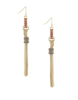 BCBGeneration - Linear Snake Chain Earrings