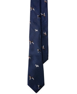 Lauren Ralph Lauren - Canine-Print Club Tie