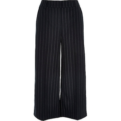 River Island - Stripe Smart Belted Culottes