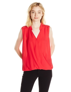 My Michelle - Woven Envelope Front Top