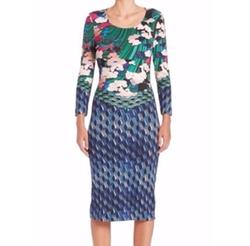 Mary Katrantzou  - Mixed Printed Jersey Dress