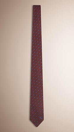 Burberry - Modern Cut Polka Dot Silk Tie