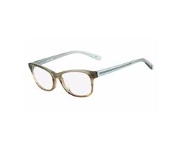Nine West  - Blue-Brown Horn Gradient Eyeglasses