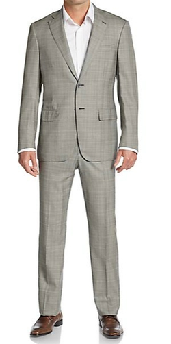 Isaia - Regular-Fit Glen Plaid Super 160s Wool Suit