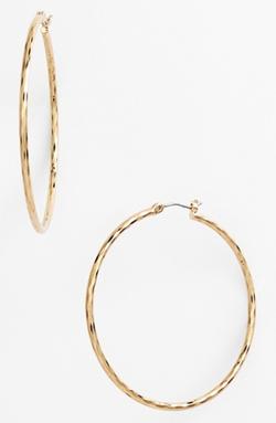 Nordstrom  - Large Hoop Earrings