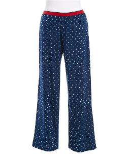 Nautica - Dot Patterned Pajama Pants