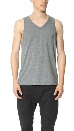 T by Alexander Wang  - Classic Tank with Pocket