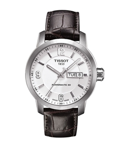 Tissot - Leather Strap Automatic Watch