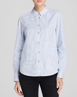 Marc By Marc Jacobs  - Candy Stripe Button Down Shirt