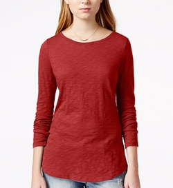 Maison Jules - Long-Sleeve Crew-Neck T-Shirt