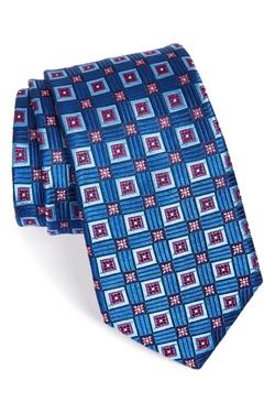 Nordstrom  - Medallion Print Silk Tie