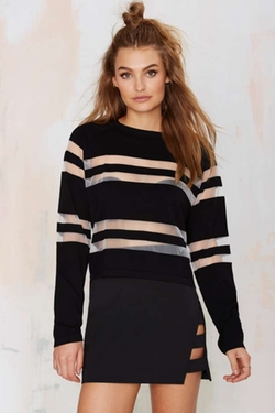 Nasty Gal - Finders Keepers Sunday Mesh Top
