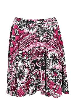 Boohoo - Misha Floral Skater Skirt