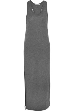 T by Alexander Wang - Jersey Maxi Dress