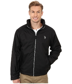 US Polo Assn - Solid Hooded Windbreaker