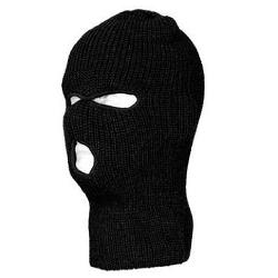 Private Label  - 5504Black Face Mask