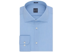 Ike Behar - Danish Blue Dobby Solid Dress Shirt