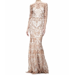 Marchesa - Embroidered Mermaid Gown