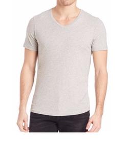 Frame - V-Neck T-Shirt
