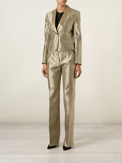 Dolce & Gabbana   - Metallic Trouser Suit