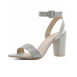 Allegra K  - Woman Chunky Heel Ankle Strap Sandals