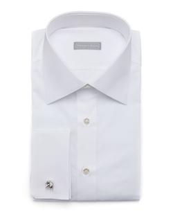 Stefano Ricci - Basic French-Cuff Dress Shirt