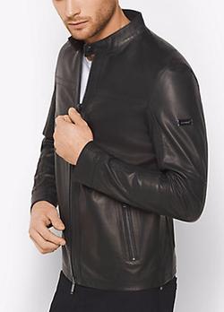 Michael Kors Mens - Mclaren X Michael Kors Leather Jacket