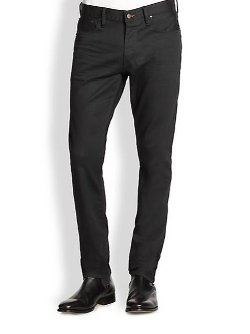 Ralph Lauren Black Label - Straight-Fit Panther Stretch Jeans