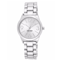 Nine West - Stainless Steel Bracelet Watch