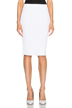 Jonathan Simkhai  - Hex Fence Pencil Skirt