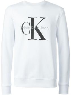 Calvin Klein Jeans   - Logo Print Sweatshirt