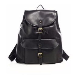 Polo Ralph Lauren - Drawstring Leather Backpack