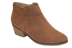 Reneeze -  Side Zipper Ankle Booties