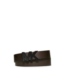 Michael Kors Men - Leather Logo Belt