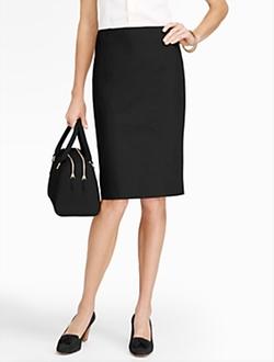 Talbots - Cotton Viscose Pencil Skirt