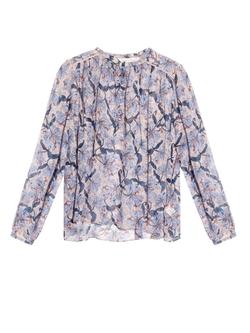 Rebecca Taylor  - Floral-Print Silk-Chiffon Blouse