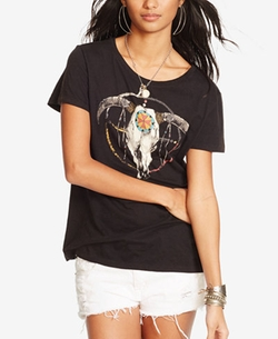 Denim & Supply Ralph Lauren - Drapey Graphic T-Shirt