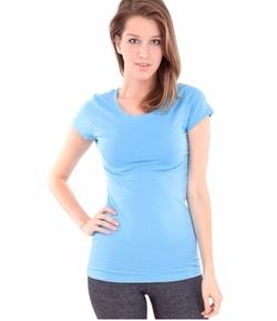 Clothes Effect - Ladies Plain Short Sleeve T-Shirt
