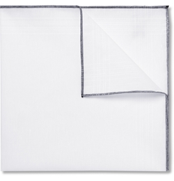 Tom Ford - Linen and Cotton-Blend Pocket Square