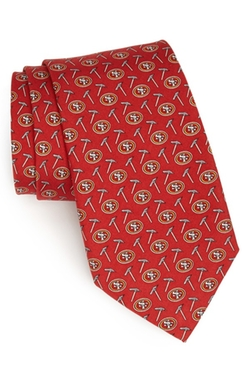 Vineyard Vines - San Francisco 49ers Print Tie