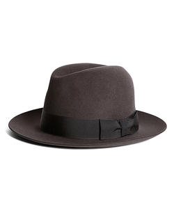 Brooks Brothers - Chelsea Fedora Hat