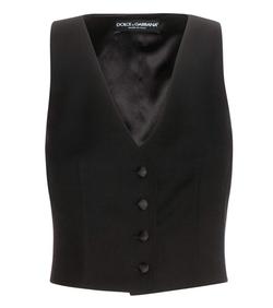 Dolce & Gabbana - Wool Crêpe Vest